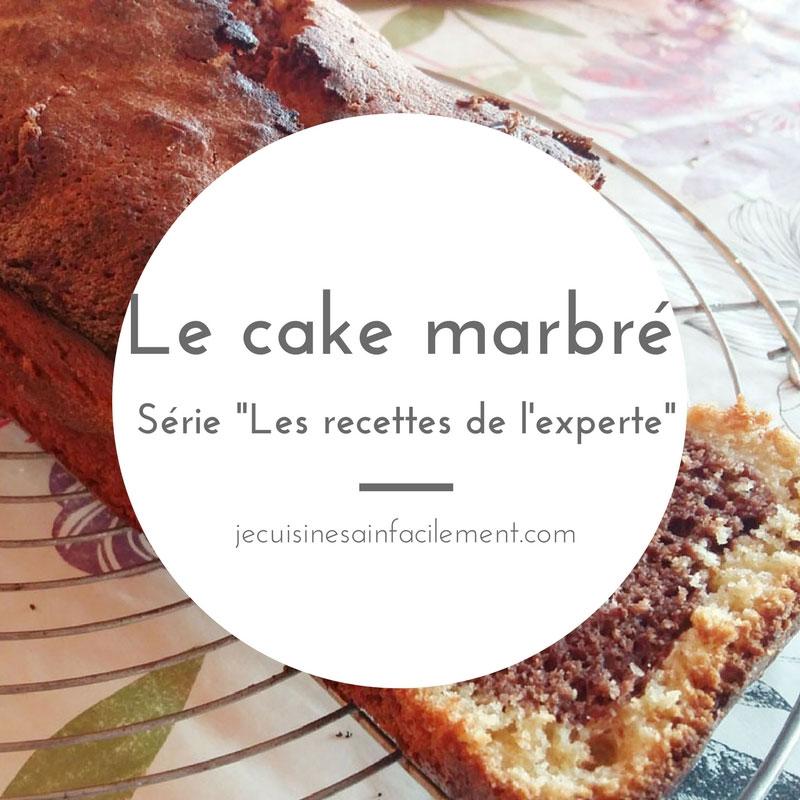 Cake marbré: les recettes de l'experte