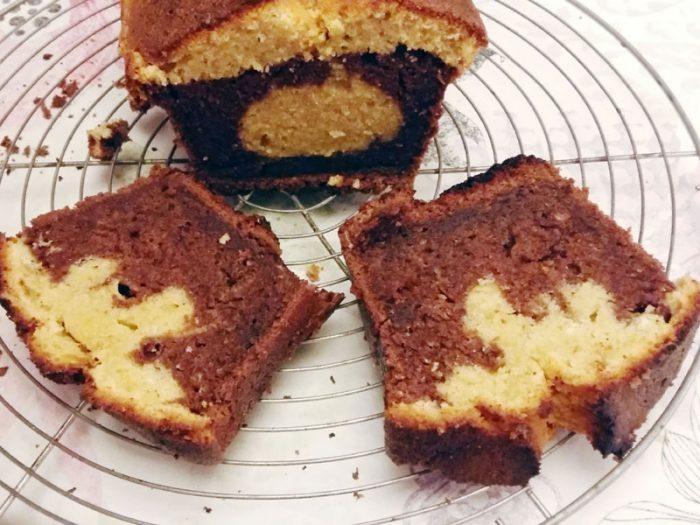 Cake marbré, deuxième